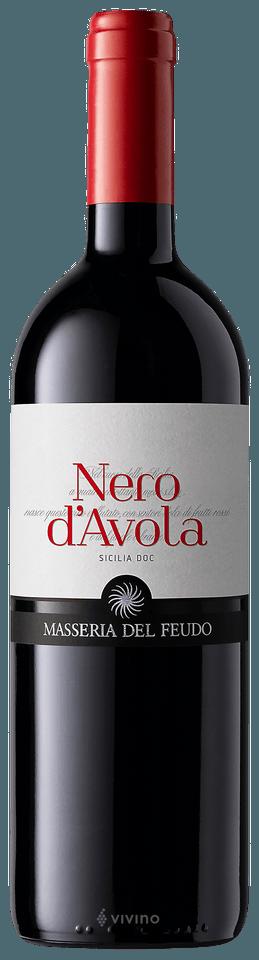 Nero D'Avola 2019 Masseria Del Feudo